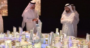 حاكم دبي يطلق مشروع أكبر مركز للتسوق في العالم