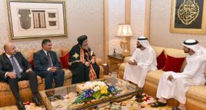 محمد بن راشد: الإمارات تقف دائماً إلى جانب الشعب المصري الشقيق في كل الظروف