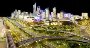 """محمد بن راشد يطلق """"مول العالم"""" العاصمة الاقتصادية والسياحية والثقافية"""
