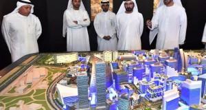 محمد بن راشد يطلق بناء أكبر مول في العالم  لاستقبال 180 مليون زائر سنوياً