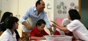 خالد صالح كان من أوائل الفنانين المصريين الذين بادروا بالتواصل مع مركز راشد في دبي