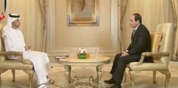فيديو لقاء الرئيس عبد الفتاح السيسي من الإمارات مع الإعلامى إبراهيم الأحمد على قناة أبوظبي