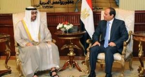 الرئيس السيسى يستقبل الشيخ محمد بن زايد آل نهيان ولى عهد أبوظبى