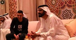رامز جلال في حفل إفطار الشيخ محمد بن راشد حاكم دبي