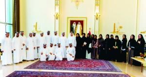 صاحب السمو الشيخ سعود بن صقر القاسمي حاكم رأس الخيمة : القيادة تسخّر الإمكانيات لتوطين المحاماة