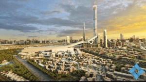 مشروع مدينة ميدان 1 السياحية والتجارية والسكنية الإمارات 4