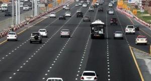 كيف تنظف دبي طرقها السريعة