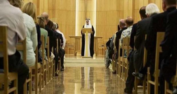 """الشيخ نهيان بن مبارك آل نهيان، وزير الثقافة والشباب وتنمية المجتمع في الإمارات للمسيحيين : """"مرحبا بكم في الإمارات .. تعلمنا منكم الكثير"""""""