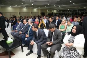 حفل تكريم لمعالي نبيلة مكرم وزيرة الدولة للهجرة وشؤون المصريين 10