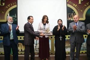 حفل تكريم لمعالي نبيلة مكرم وزيرة الدولة للهجرة وشؤون المصريين 15