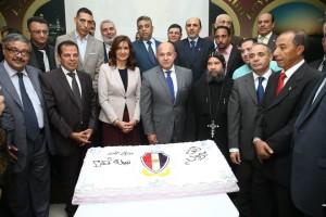حفل تكريم لمعالي نبيلة مكرم وزيرة الدولة للهجرة وشؤون المصريين 18