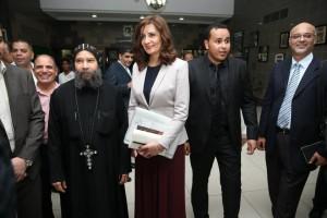 حفل تكريم لمعالي نبيلة مكرم وزيرة الدولة للهجرة وشؤون المصريين 20