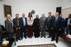 حفل تكريم لمعالي نبيلة مكرم وزيرة الدولة للهجرة وشؤون المصريين 6