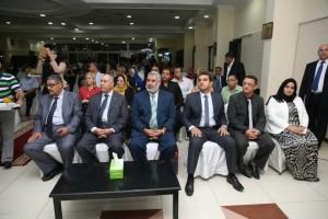 حفل تكريم لمعالي نبيلة مكرم وزيرة الدولة للهجرة وشؤون المصريين 9