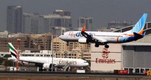 طيران الإمارات وفلاي دبي تتجنبان الطيران فوق سيناء